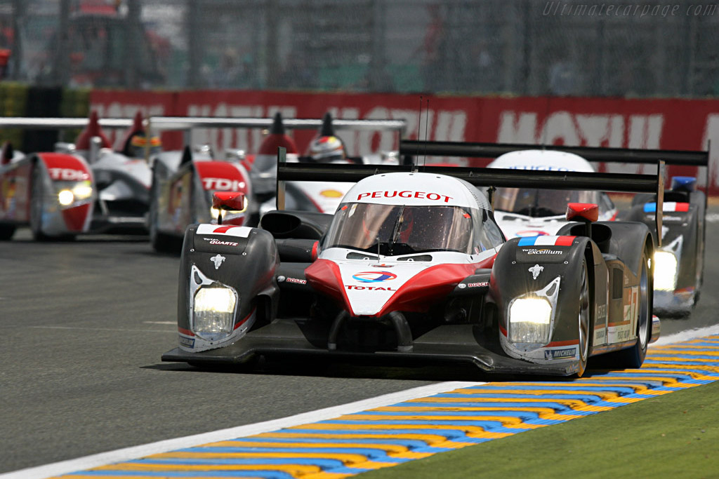 The four 'tortoises' - Chassis: 908-02 - Entrant: Team Peugeot Total  - 2007 24 Hours of Le Mans