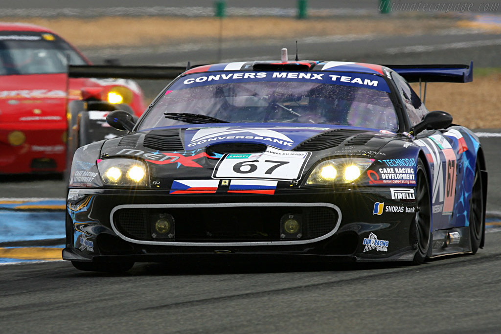 The old warhorse ahead of a fresh one - Chassis: 108391 - Entrant: Convers Menx Team  - 2007 24 Hours of Le Mans