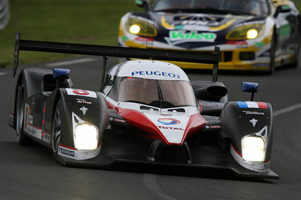 Third and best of the rest - Chassis: 908-03 - Entrant: Team Peugeot Total  - 2007 24 Hours of Le Mans