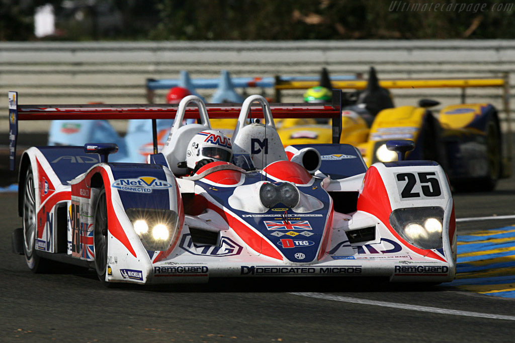 Three very different P2s - Chassis: B0540-HU05 - Entrant: RML  - 2007 24 Hours of Le Mans