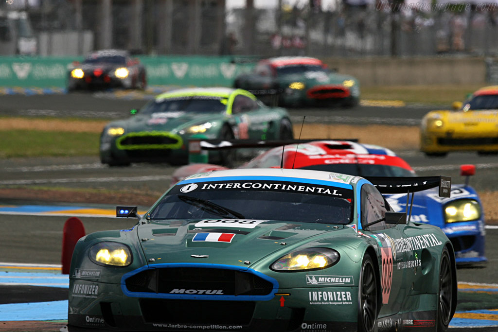 Too close to call at this stage - Chassis: DBR9/3 - Entrant: AMR Larbre  - 2007 24 Hours of Le Mans