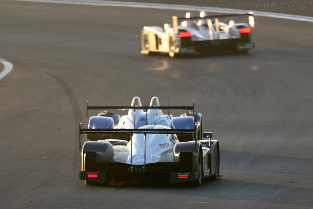 Top runners - Chassis: 908-03 - Entrant: Team Peugeot Total  - 2007 24 Hours of Le Mans