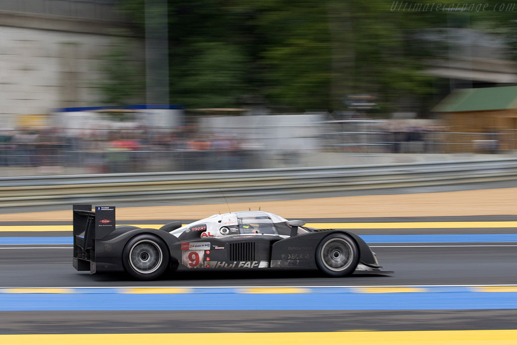 22 hours worth of dirt - Chassis: 908-04 - Entrant: Peugeot Sport Total  - 2008 24 Hours of Le Mans