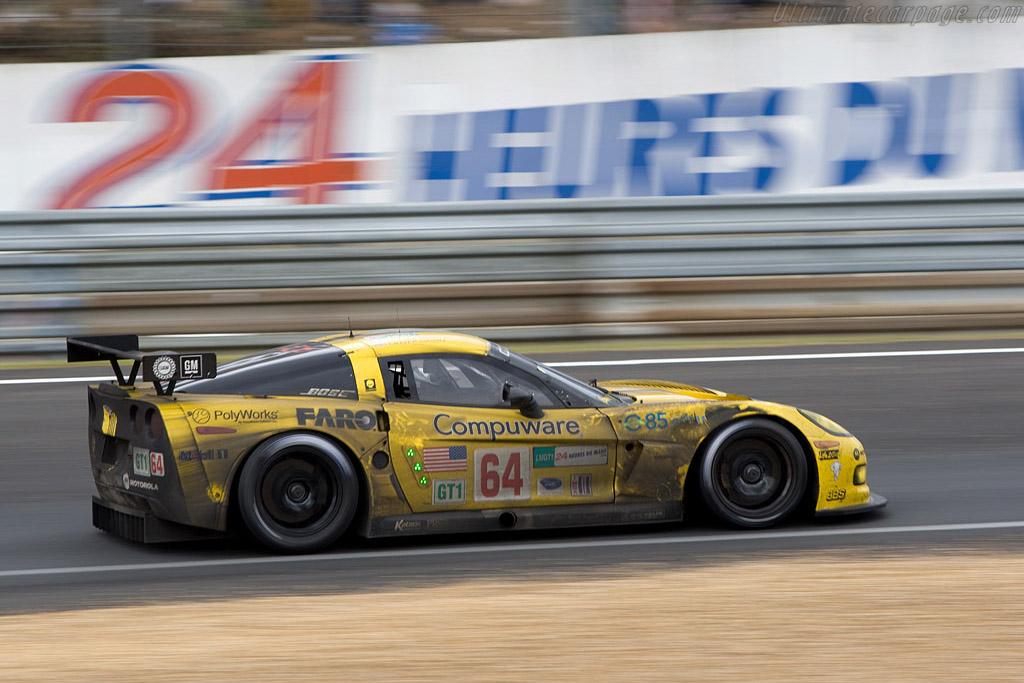 24 Heurs du Mans - Chassis: 008 - Entrant: Corvette Racing  - 2008 24 Hours of Le Mans