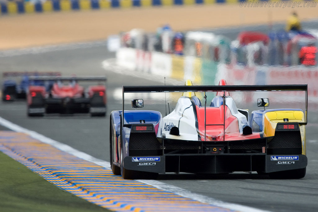 A colourful mix - Chassis: LC70-11 - Entrant: Team Oreca Matmut  - 2008 24 Hours of Le Mans