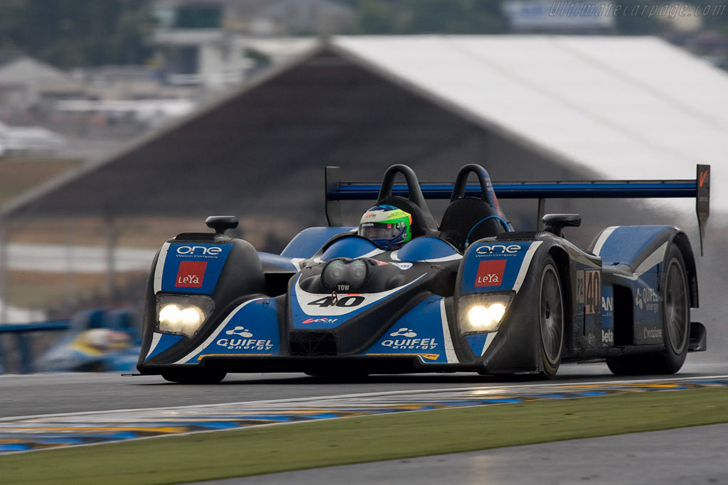 A solid performance from the Quiffel Lola - Chassis: B0540-HU01 - Entrant: Team Quiffel ASM  - 2008 24 Hours of Le Mans
