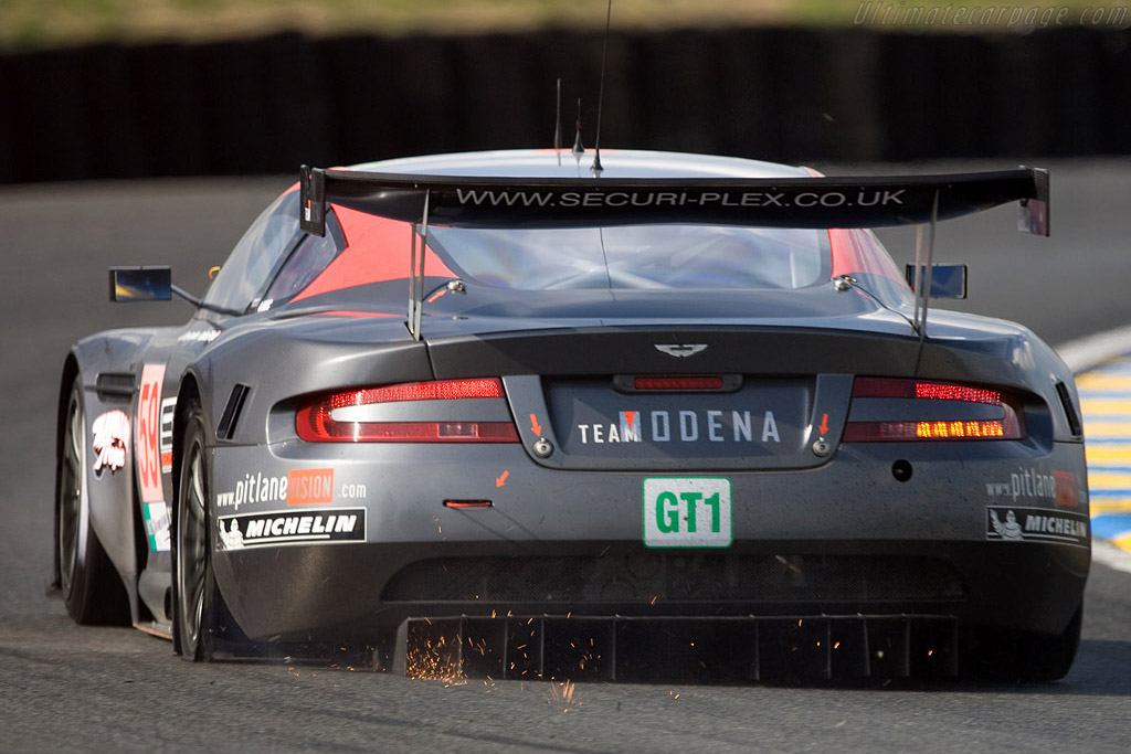 A sparkling puncture - Chassis: DBR9/101 - Entrant: Team Modena  - 2008 24 Hours of Le Mans