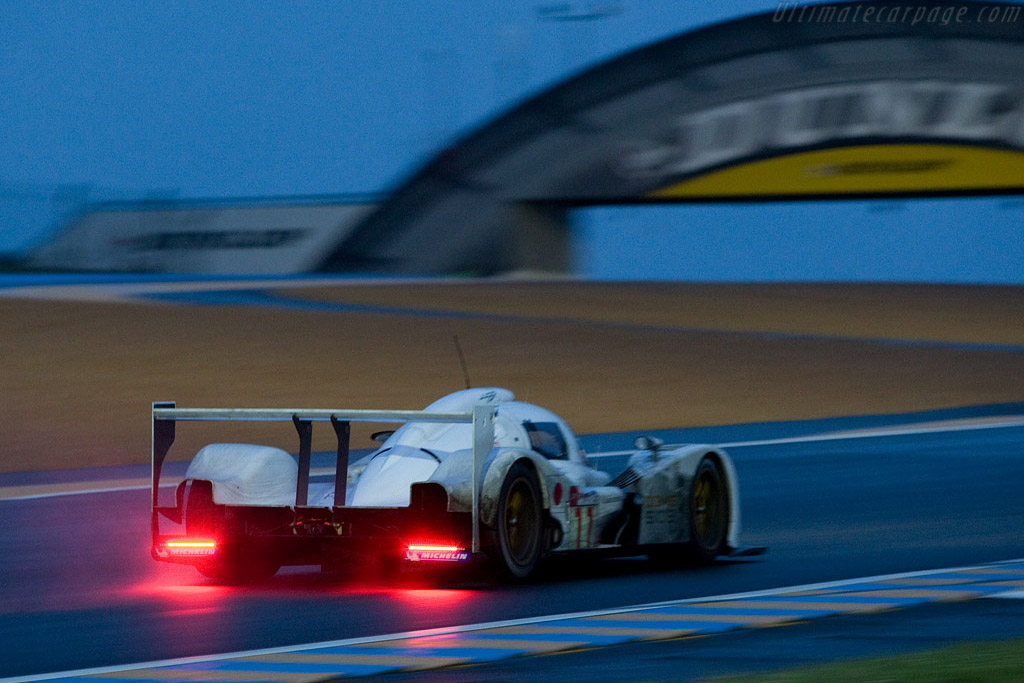 And at 4 am the rain came - Chassis: S102-003 - Entrant: Dome Racing  - 2008 24 Hours of Le Mans