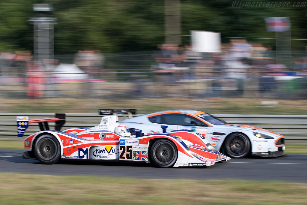 Andy on the 20th anniversary of his Le Mans win - Chassis: B0540-HU05 - Entrant: RML - 2008 24 Hours of Le Mans