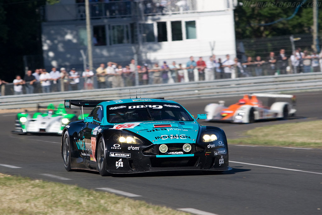 Aston Martin DBR9 - Chassis: DBR9/4 - Entrant: Vitaphone Racing Team  - 2008 24 Hours of Le Mans