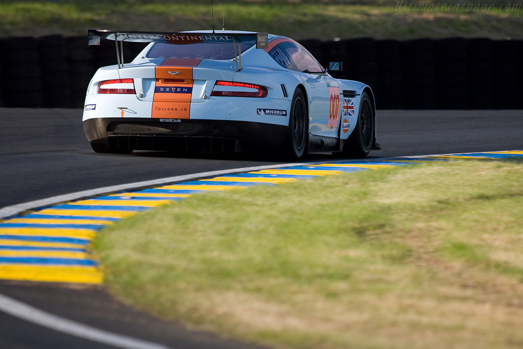 Aston Martin DBR9 - Chassis: DBR9/7 - Entrant: Aston Martin Racing  - 2008 24 Hours of Le Mans
