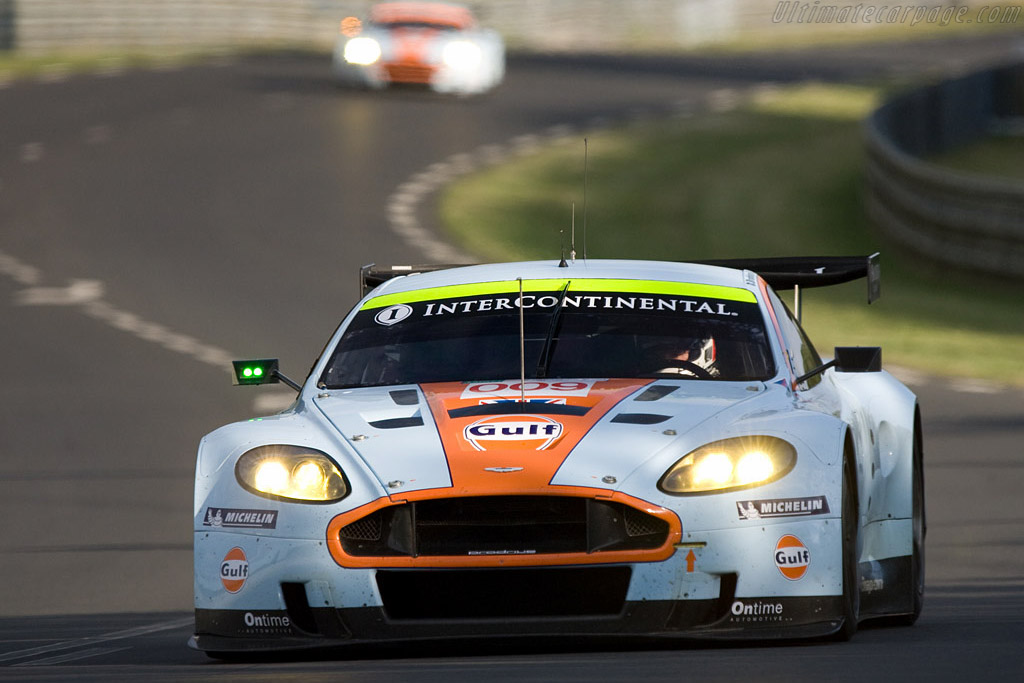 Aston Martin DBR9 - Chassis: DBR9/8 - Entrant: Aston Martin Racing  - 2008 24 Hours of Le Mans
