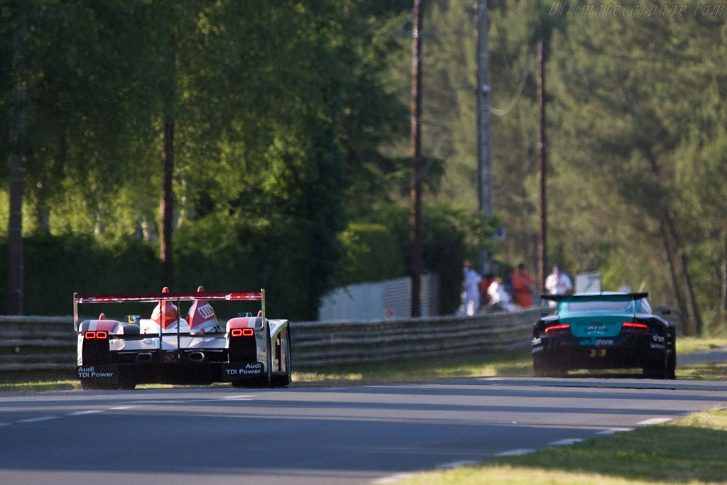 Audi R10 - Chassis: 301 - Entrant: Audi Sport North America  - 2008 24 Hours of Le Mans