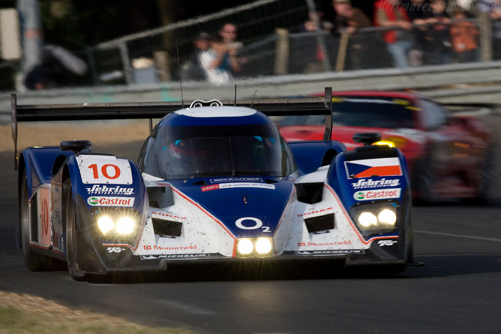 Back into shape - Chassis: B0860-HU01 - Entrant: Charouz Racing System  - 2008 24 Hours of Le Mans