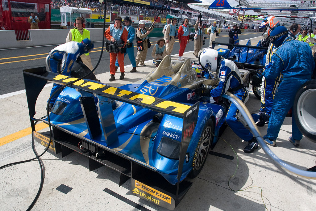 Back to back Creations - Chassis: CA07-002 - Entrant: Creation Autosportif  - 2008 24 Hours of Le Mans