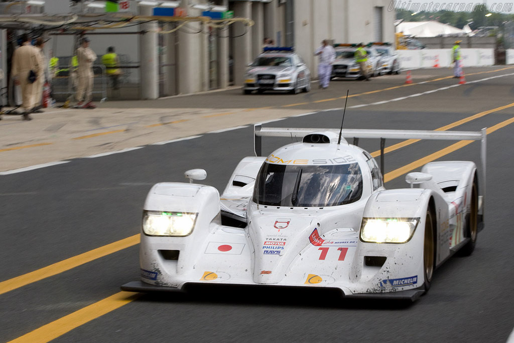 Beautiful and blisteringly fast - Chassis: S102-003 - Entrant: Dome Racing  - 2008 24 Hours of Le Mans