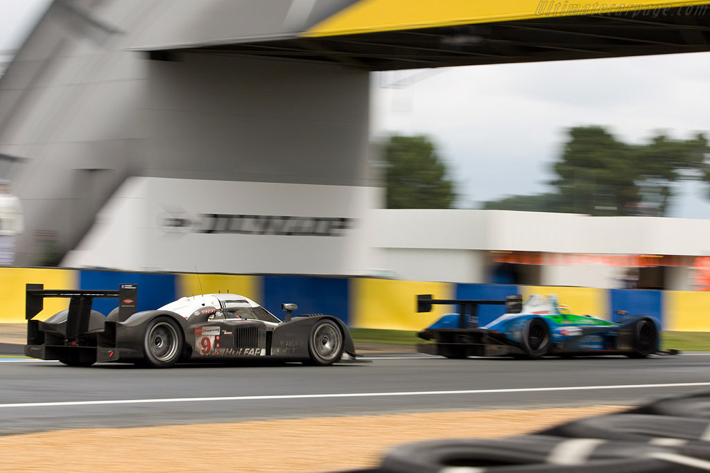 Big speed difference - Chassis: 908-04 - Entrant: Peugeot Sport Total  - 2008 24 Hours of Le Mans