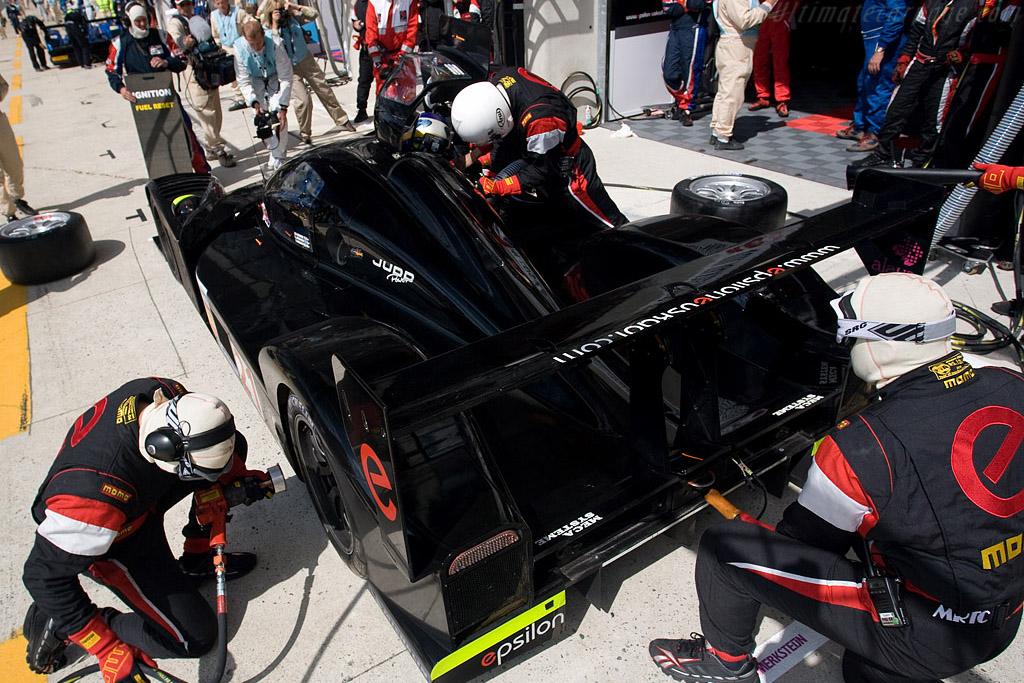 Black beauty - Chassis: 001 - Entrant: Epsilon Euskadi  - 2008 24 Hours of Le Mans