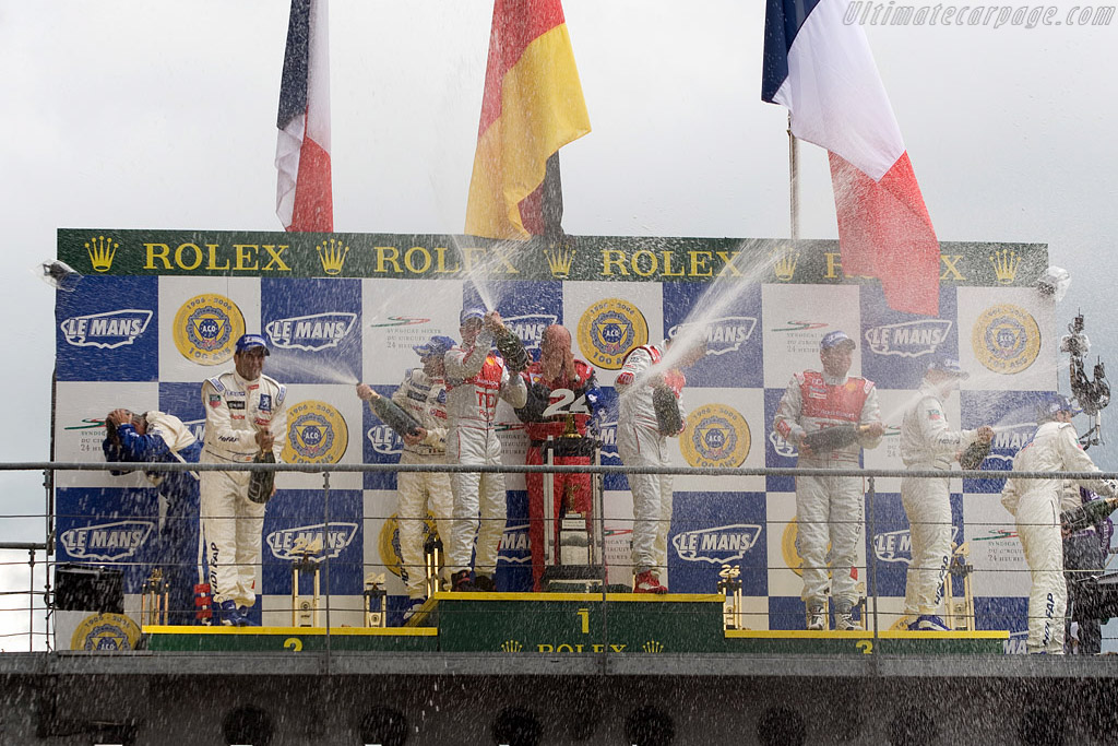 Champagne    - 2008 24 Hours of Le Mans