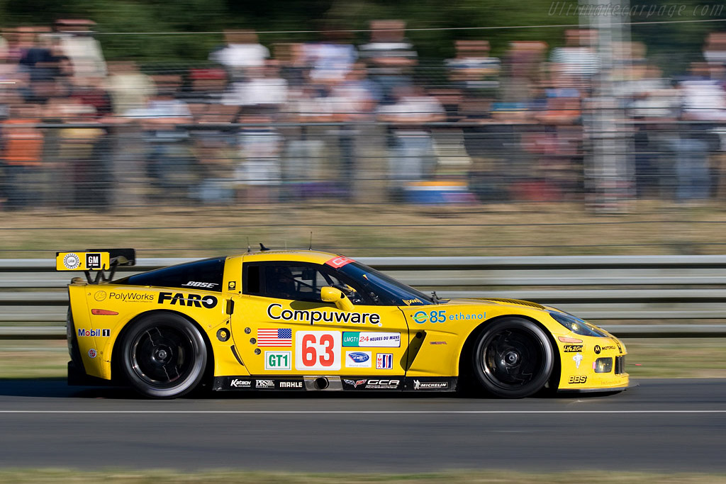 Chevrolet Corvette C6.R - Chassis: 007 - Entrant: Corvette Racing  - 2008 24 Hours of Le Mans