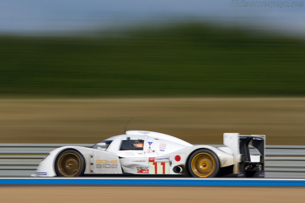 Clocked at 358 km/h by the ACO - Chassis: S102-003 - Entrant: Dome Racing  - 2008 24 Hours of Le Mans