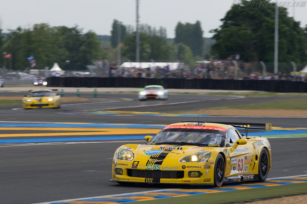 Corvette - Corvette - Aston - Chassis: 007 - Entrant: Corvette Racing  - 2008 24 Hours of Le Mans