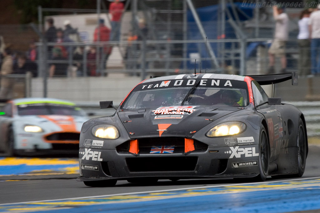 DBR9s - Chassis: DBR9/101 - Entrant: Team Modena  - 2008 24 Hours of Le Mans