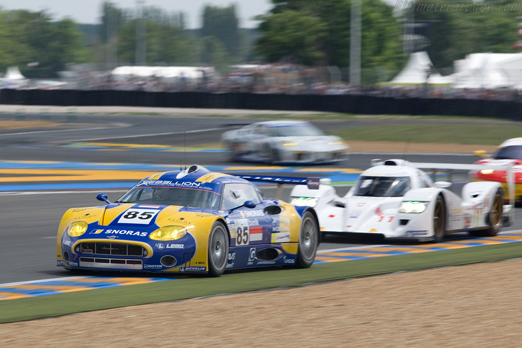 Dome in GT2 mix - Chassis: XL9AB01G37Z363190 - Entrant: Spyker Squadron  - 2008 24 Hours of Le Mans