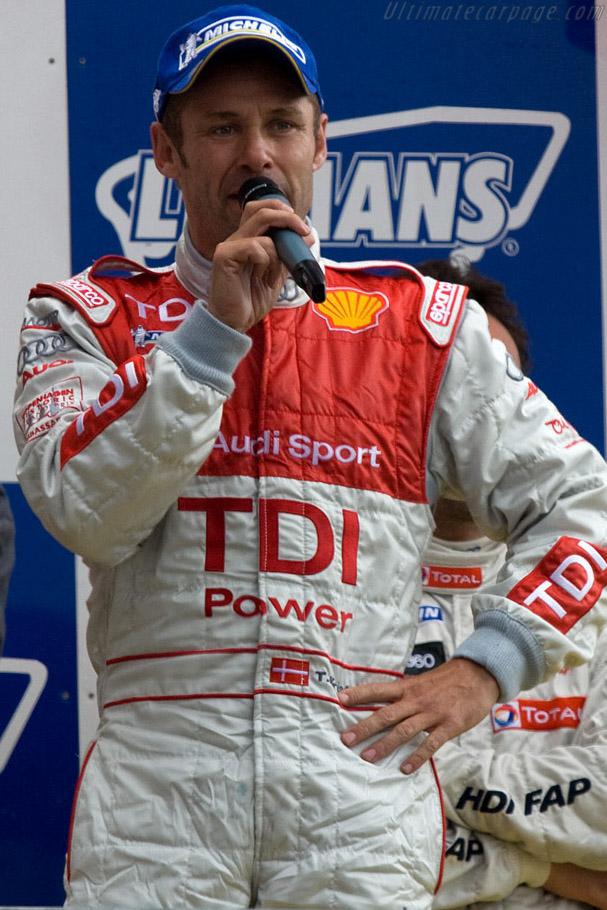 Eight time winner Tom Kristensen    - 2008 24 Hours of Le Mans