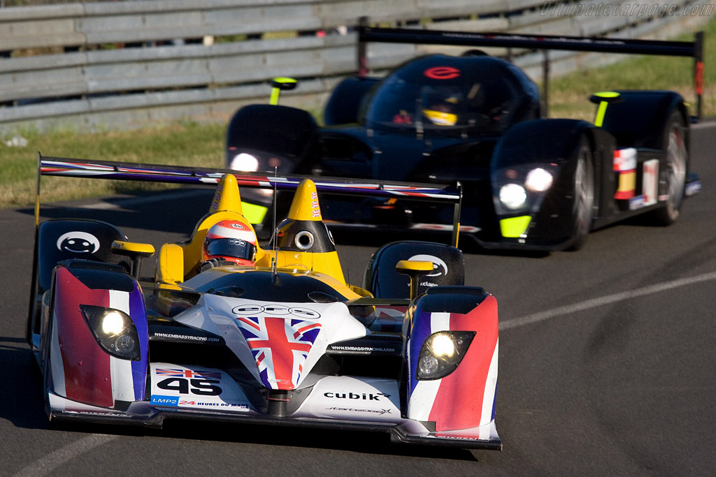 Embassy Racing WF01 Zytek - Chassis: WF01-02 - Entrant: Embassy Racing  - 2008 24 Hours of Le Mans