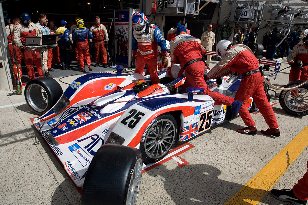 Erdos out, Newton in - Chassis: B0540-HU05 - Entrant: RML  - 2008 24 Hours of Le Mans