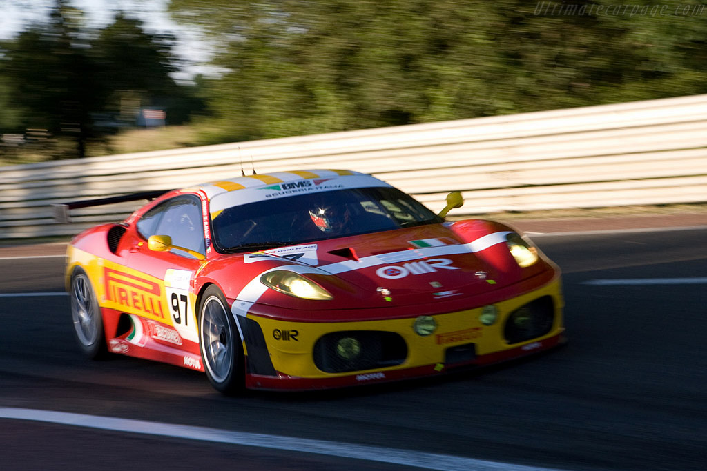Ferrari F430 GTC - Chassis: 2616 - Entrant: BMS Scuderia Italia  - 2008 24 Hours of Le Mans