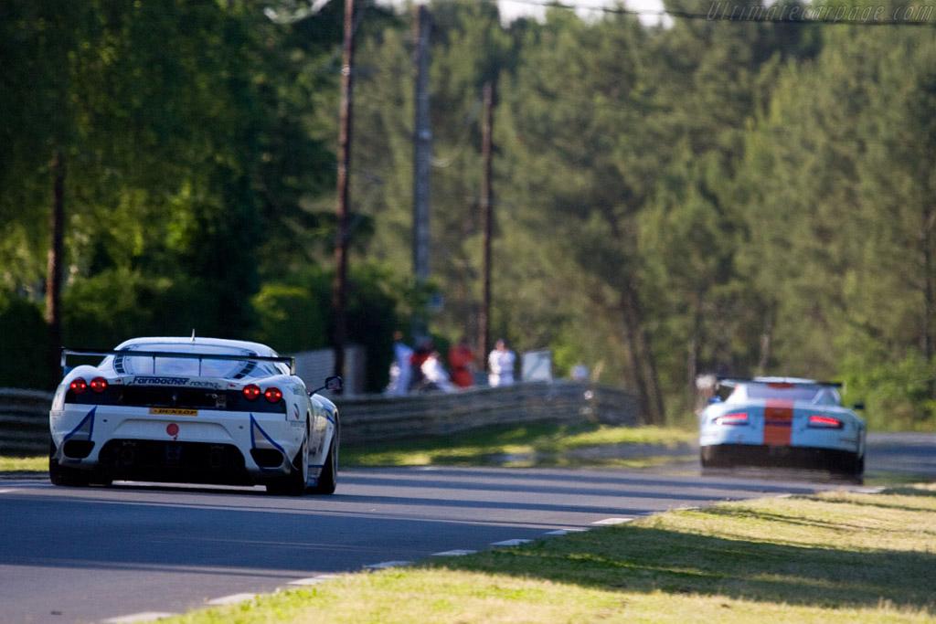 Ferrari F430 GTC - Chassis: 2612 - Entrant: Farnbacher Racing  - 2008 24 Hours of Le Mans