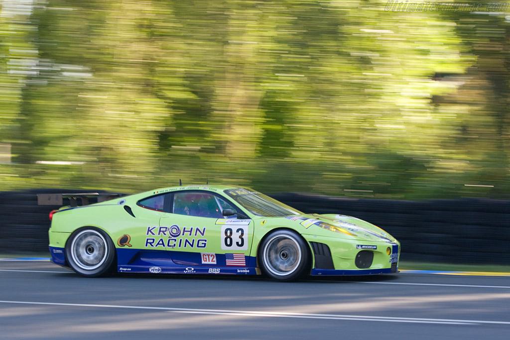 Ferrari F430 GTC - Chassis: 2456 - Entrant: Risi Competizione  - 2008 24 Hours of Le Mans