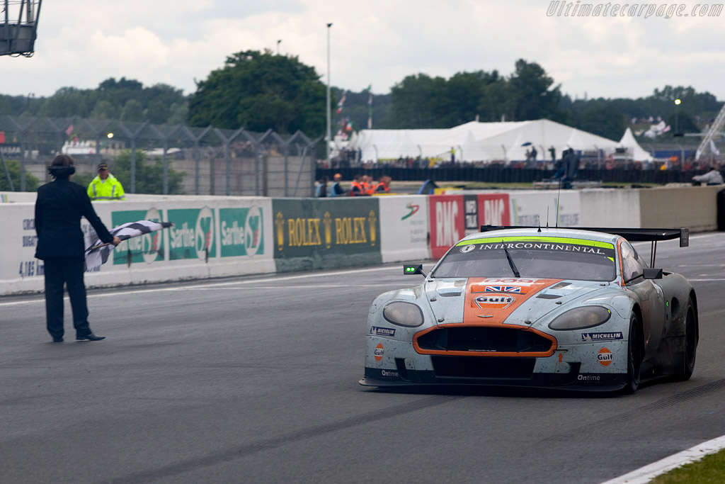 GT1 winners - Chassis: DBR9/8 - Entrant: Aston Martin Racing  - 2008 24 Hours of Le Mans