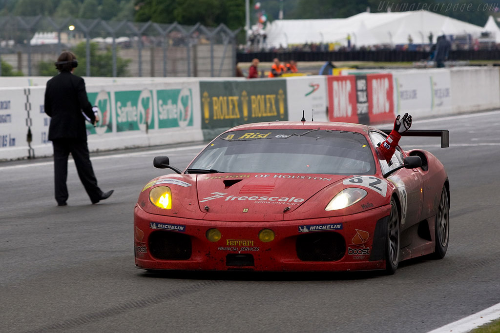 GT2 winners - Chassis: 2606 - Entrant: Risi Competizione  - 2008 24 Hours of Le Mans