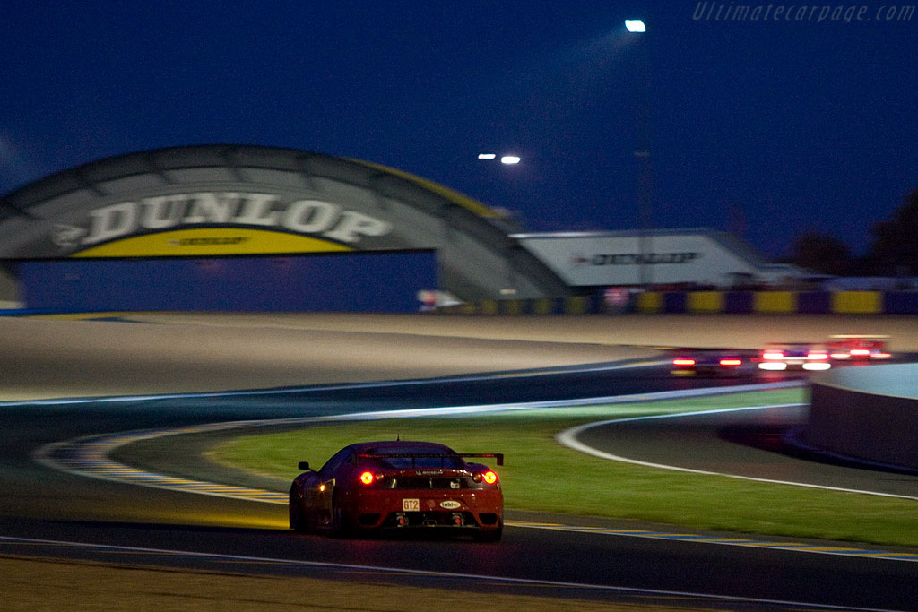 Into the night - Chassis: 2606 - Entrant: Risi Competizione  - 2008 24 Hours of Le Mans