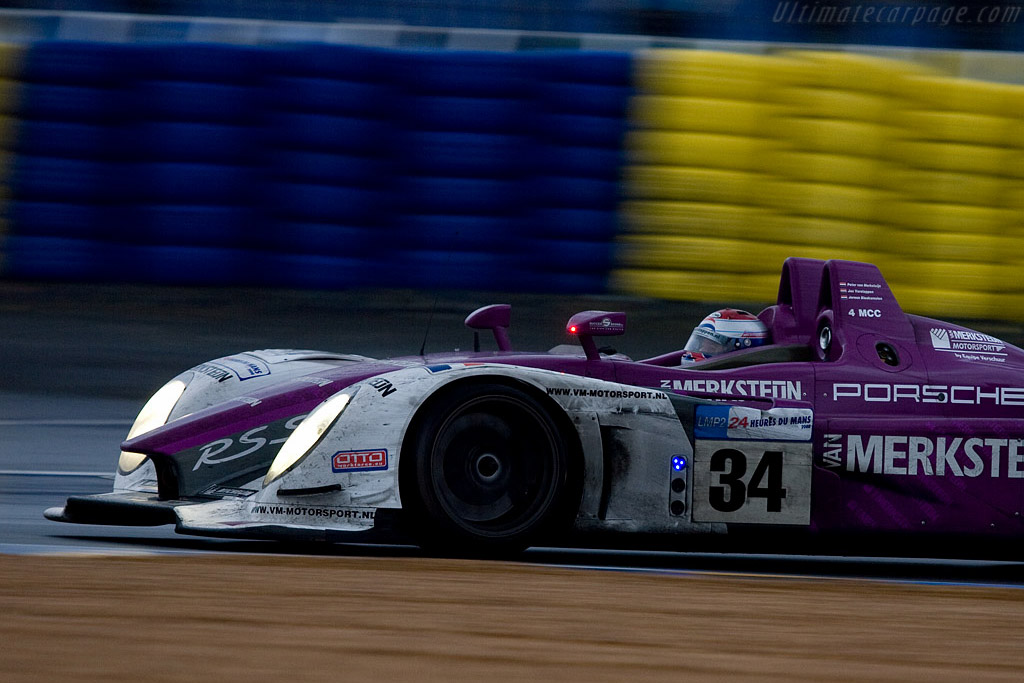 Jos 'The Boss' made his mark in the rain - Chassis: 9R6 708 - Entrant: Van Merksteijn Motorsport  - 2008 24 Hours of Le Mans