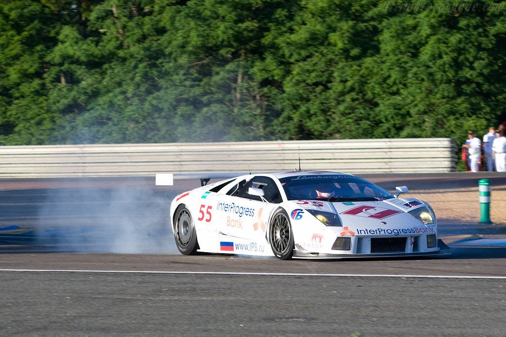 Lamborghini Murcielago R-GT - Chassis: LA01064 - Entrant: Interprogressbank Spartak Racing  - 2008 24 Hours of Le Mans