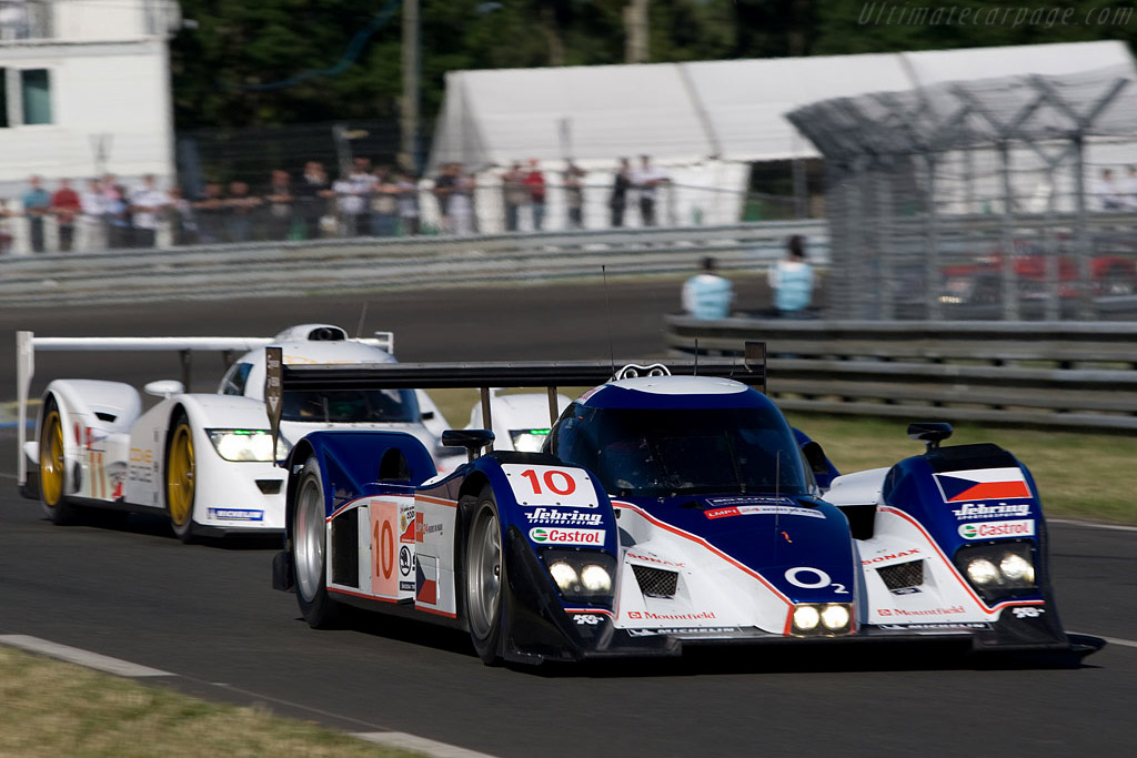 Lola B08/60 Aston Martin - Chassis: B0860-HU01 - Entrant: Charouz Racing System  - 2008 24 Hours of Le Mans