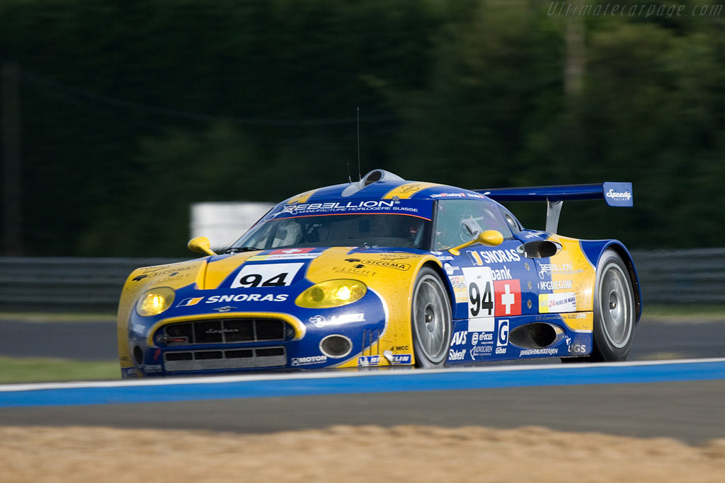 Looking good as ever, but not reliable - Chassis: XL9AB01G57Z363191 - Entrant: Speedy Racing Team  - 2008 24 Hours of Le Mans
