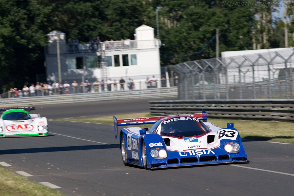 Nissan R90C-K - Chassis: R90C/5 - Driver: Peter Sowerby  - 2008 24 Hours of Le Mans