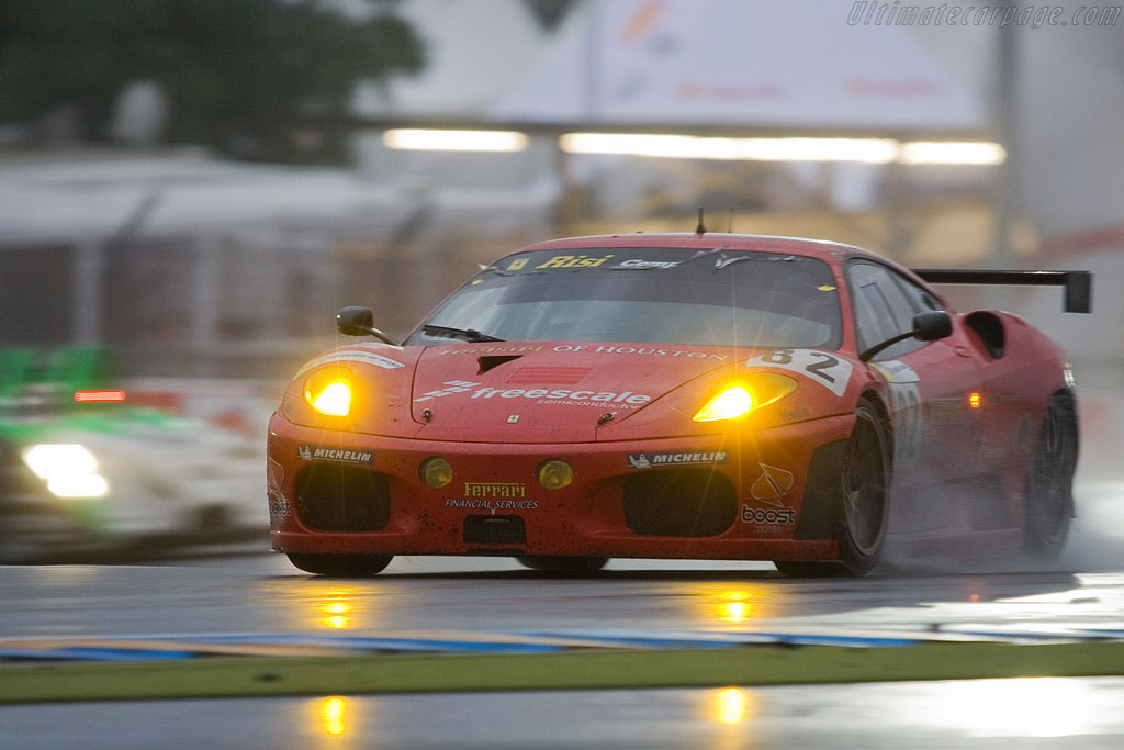Nothing could stop the Risi Ferrari - Chassis: 2606 - Entrant: Risi Competizione  - 2008 24 Hours of Le Mans