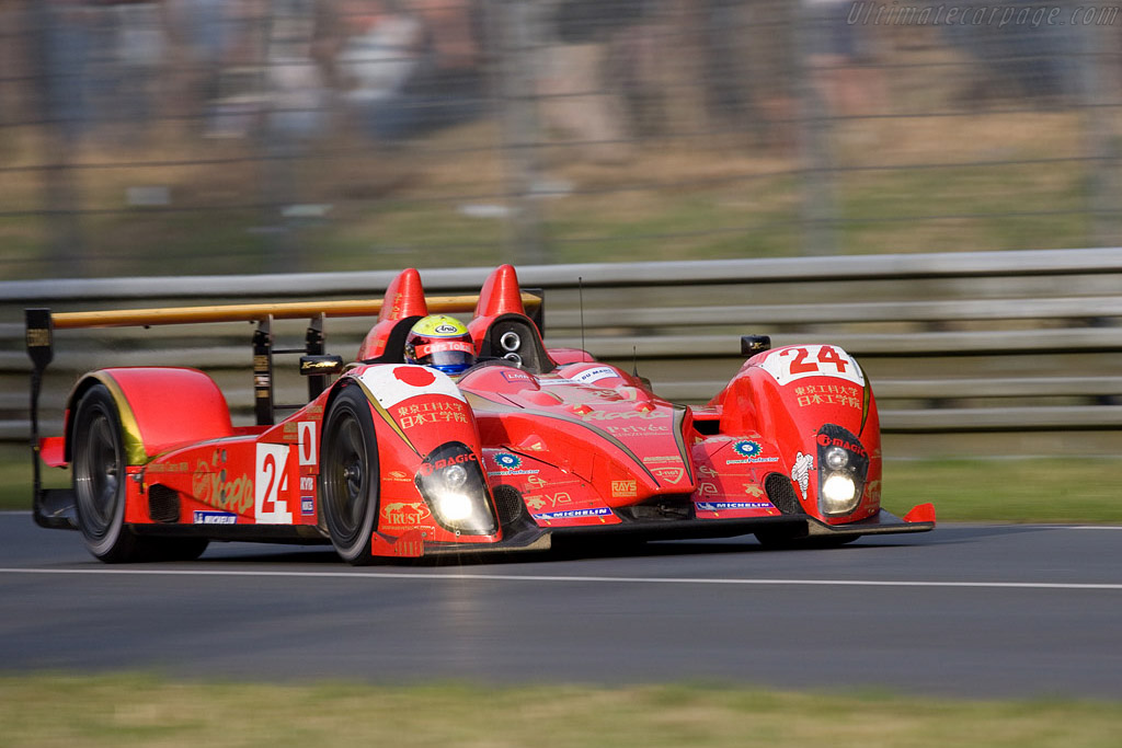 One of the finest liveries - Chassis: LC70-05 - Entrant: Terramos  - 2008 24 Hours of Le Mans