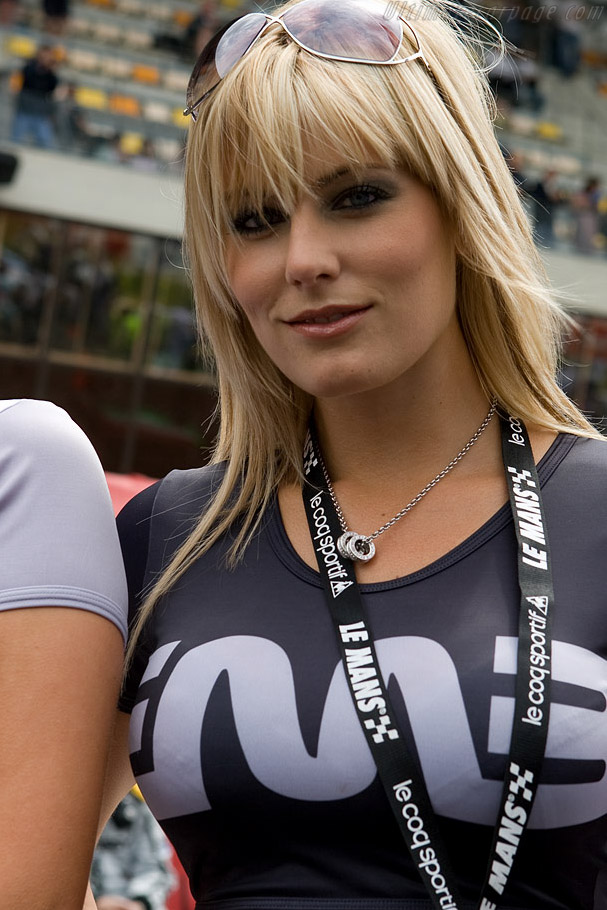 Our favourite Embassy Girl    - 2008 24 Hours of Le Mans