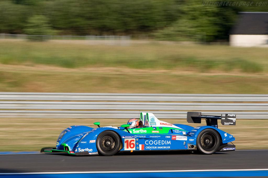 Pescarolo 01 Judd - Chassis: 01-01 - Entrant: Pescarolo Sport  - 2008 24 Hours of Le Mans