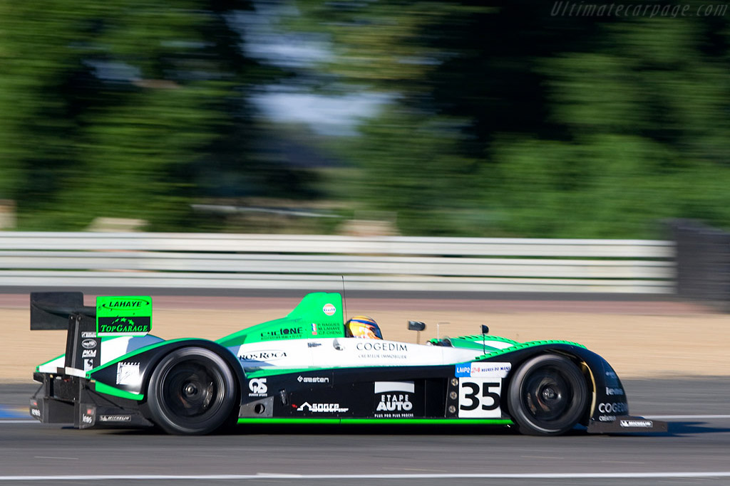 Pescarolo 01 Judd - Chassis: 01-06 - Entrant: Saulnier Racing  - 2008 24 Hours of Le Mans