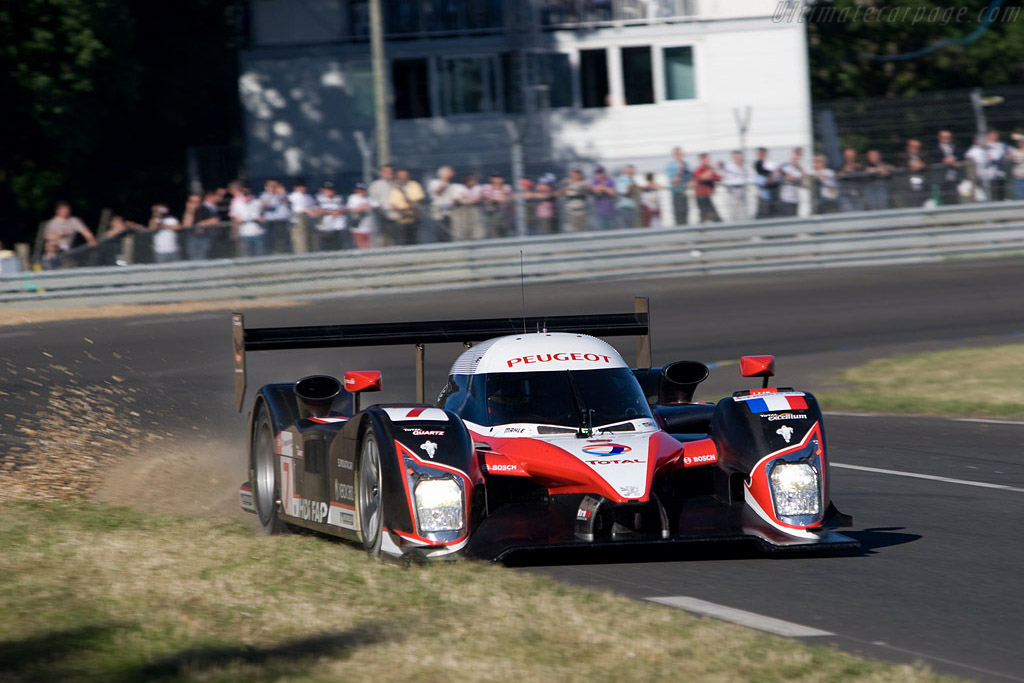 Peugeot 908 HDI FAP - Chassis: 908-05 - Entrant: Team Peugeot Total  - 2008 24 Hours of Le Mans