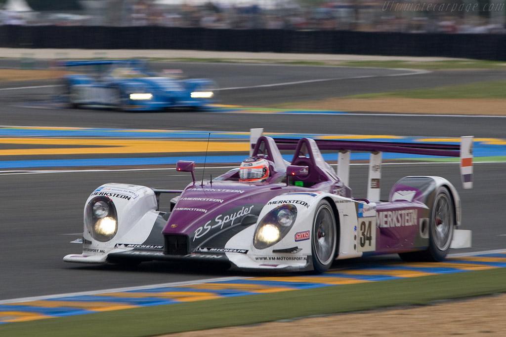 Porsche 1-2 in LMP2 - Chassis: 9R6 708 - Entrant: Van Merksteijn Motorsport  - 2008 24 Hours of Le Mans