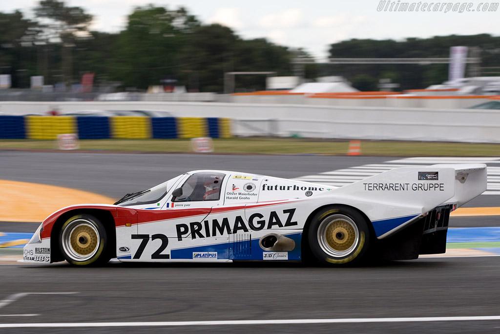 Porsche 962 C - Chassis: 962-130   - 2008 24 Hours of Le Mans